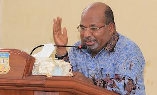 Gubernur Papua Tegaskan: Mereka Provokator, Saya Tidak Pernah Mengeluarkan Pernyataan Terkait Ahok Apalagi Berkianat dari NKRI