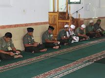 KOREM 132/TADULAKO GELAR PEMBINAAN METAL BAGI PRAJURIT, PNS DAN PERSIT KCK