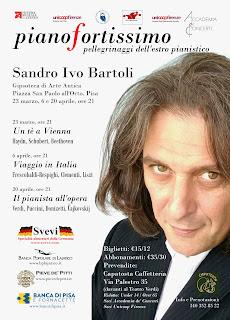 Sandro ivo Bartoli, piano recitals in Pisa
