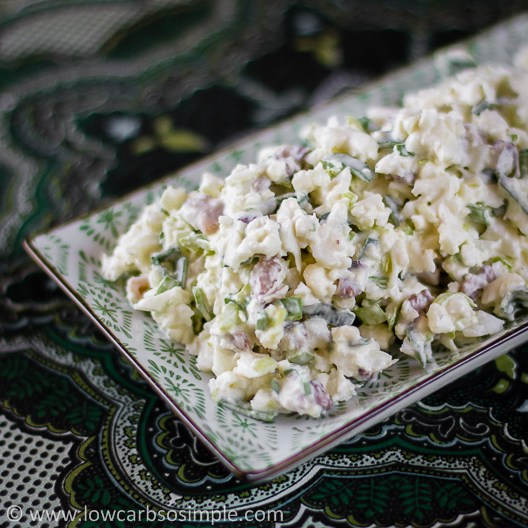 The BEST Low-Carb Cauliflower Salads featured for Low-Carb Recipe Love on KalynsKitchen.com