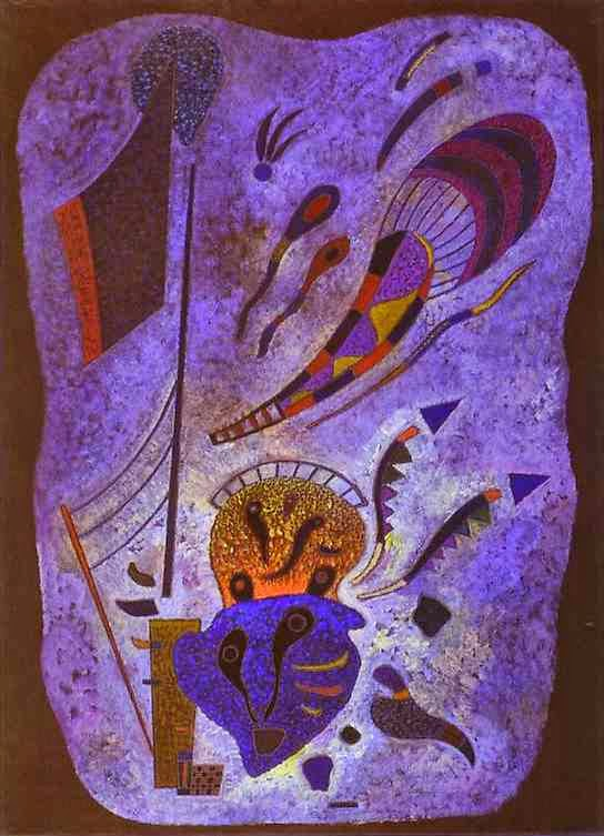 Crepúsculo - Kandinsky e suas pinturas | O pioneiro da arte abstrata