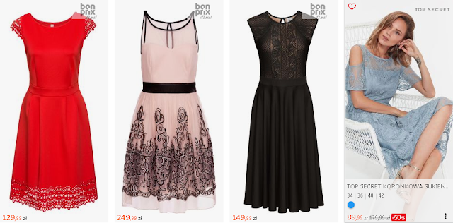 Pomysły na prezent świąteczny dla dziewczyny - sukienki