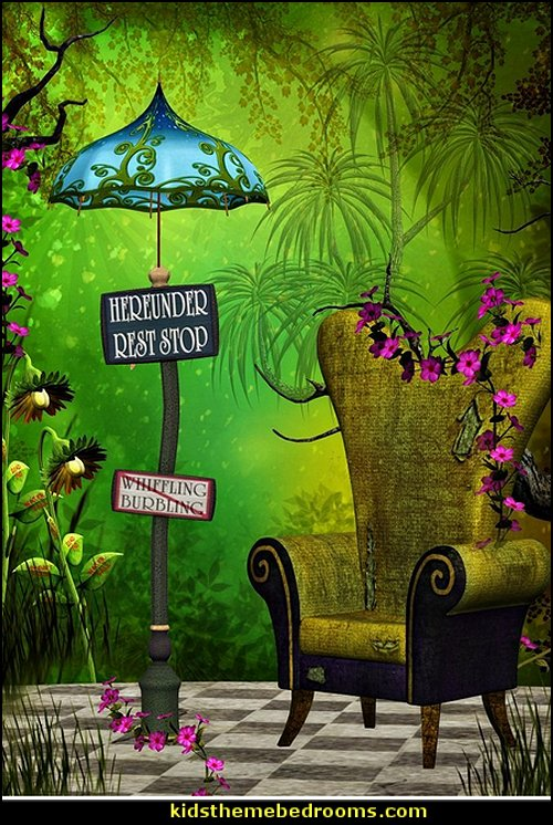 Fairytale Enchanted Forest Royal Chair backdrop