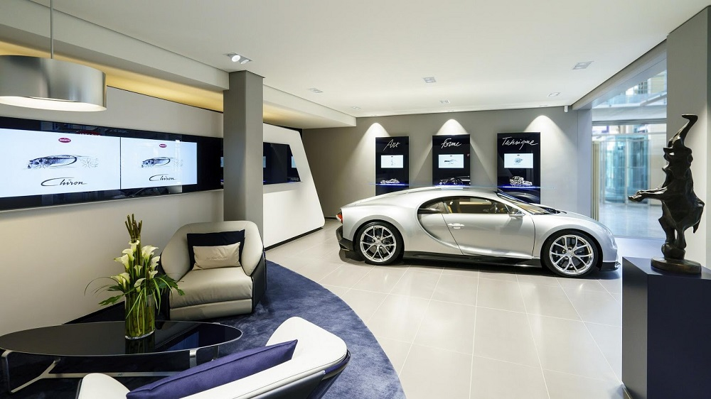 Bugatti opens new showroom in Hamburg