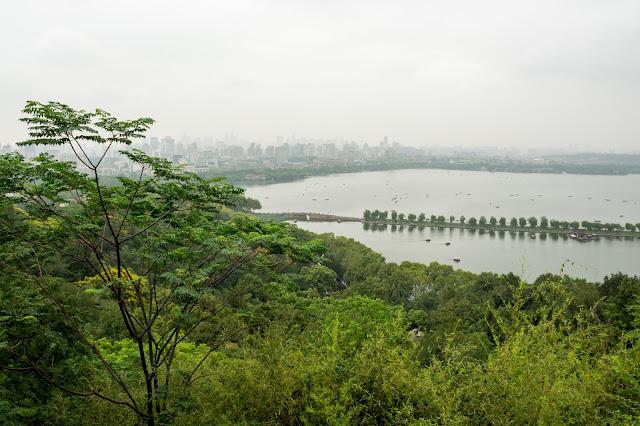 čína, cestování, info o číně, Hangzhou, jezero