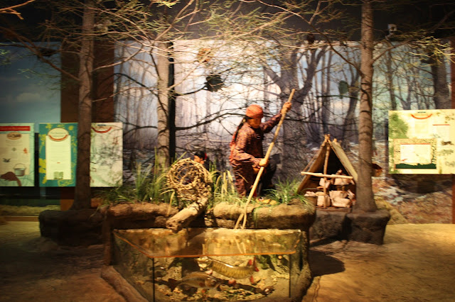 Native American life in Kenosha depicted at the Kenosha Public Museum.