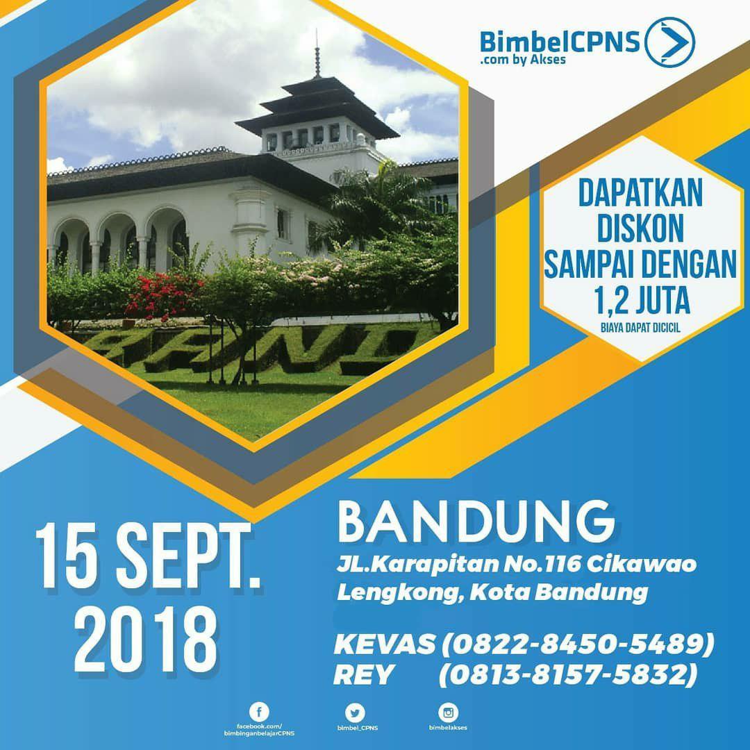 Bimbel CPNS Bandung 15 September 2018