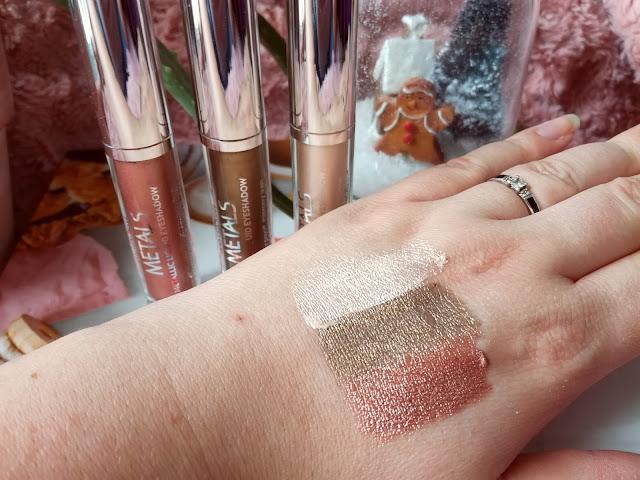 Metals Metallic Liquid Eyeshadow de Golden Rose