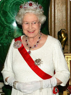 Queen Elizabeth II's Ruby Necklace