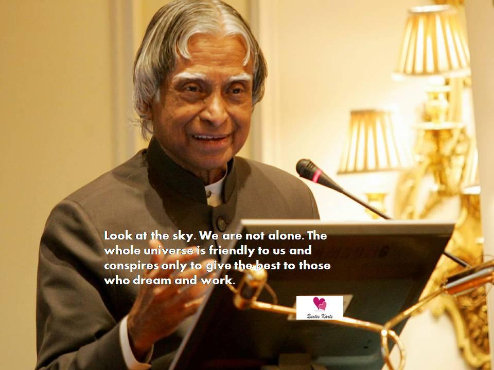 A. P. J. Abdul Kalam Quotes - Quotes Karts