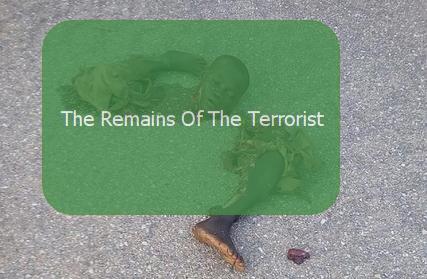 terrorists gunned down troop