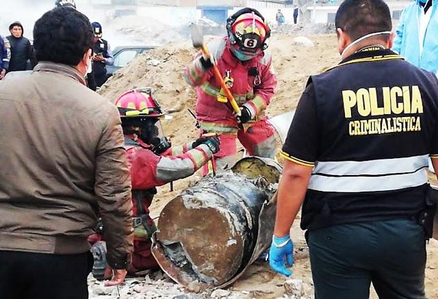 Mujer hallada dentro de cilindro era una estudiante de enfermería