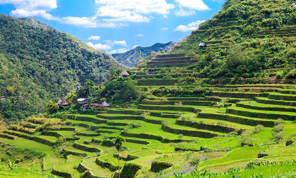 Banaue Rice Terraces di Filipina