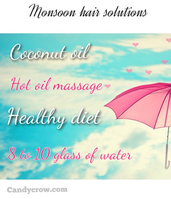 Monsoon Hair Care, hair solutions, dandruff care, monsoon haircare tips