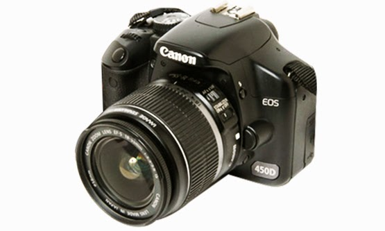 Daftar Harga dan Spesifikasi Kamera Canon EOS 450D Terbaru Murah
