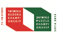 World Sudoku/Puzzle Championship 2015 Logo
