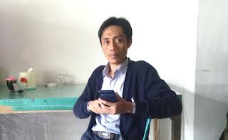 Ketua Komunitas Pemuda Peduli Pemilu dan Demokrasi (KP3D), Dian Sandi Utama