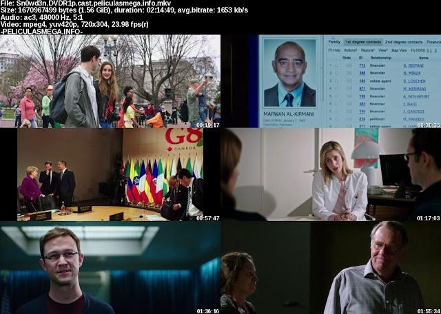 Descargar Snowden Castellano por MEGA.