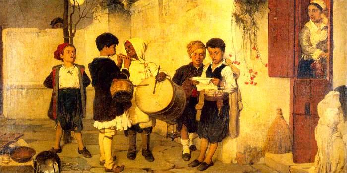 Kalanda, tradizione natalizia in Grecia