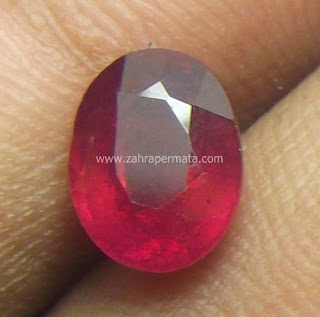 Batu Permata Ruby Pigeon Blood - ZP416