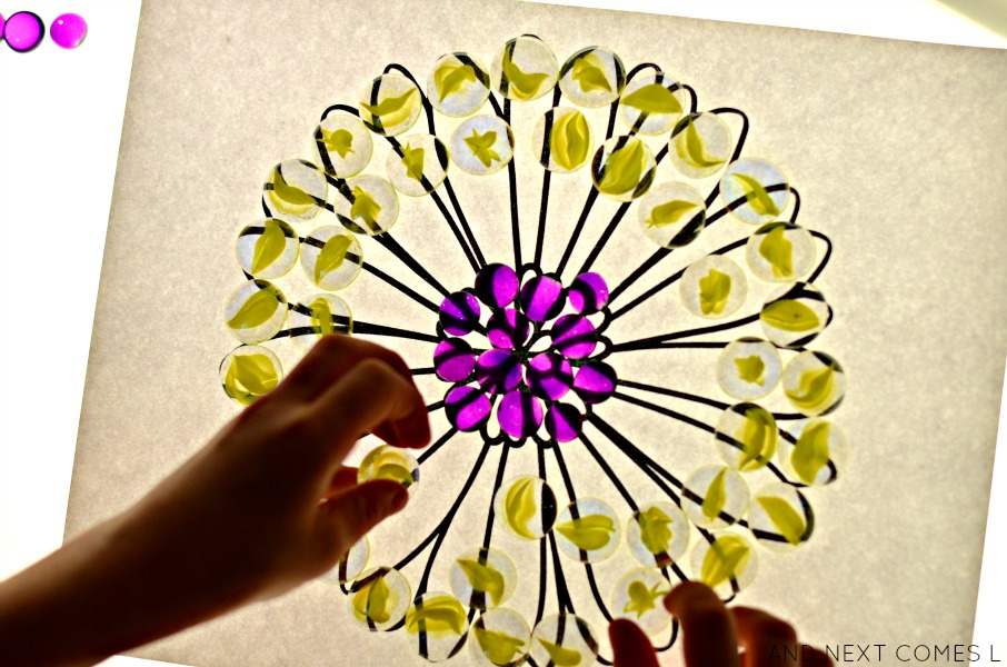 Flower mandalas printable