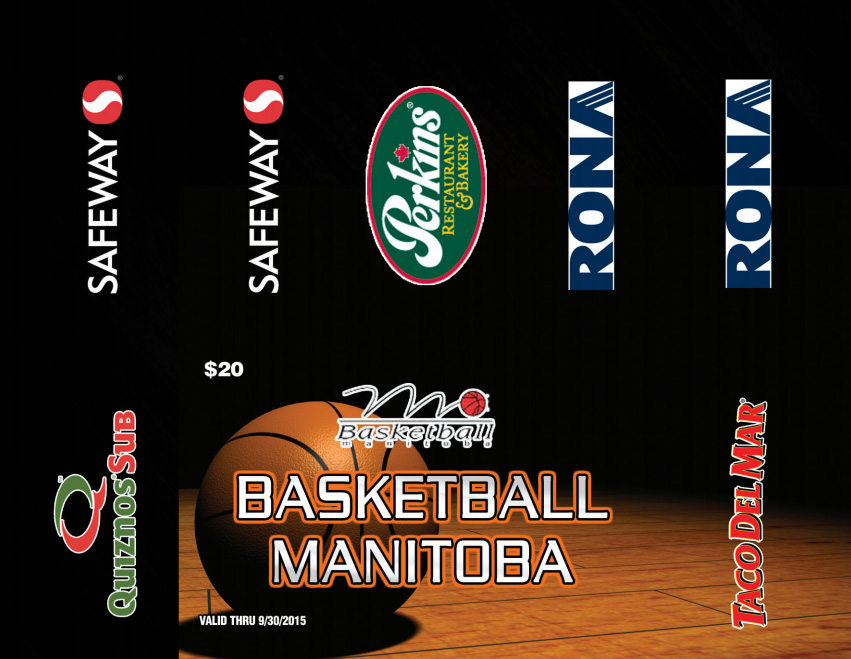 Basketball Manitoba Gold Card