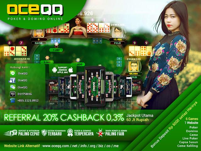 OceQQ Agen Live Poker Online Indonesia