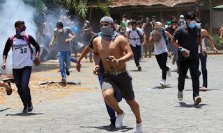 vándalos protestas cambio de régimen
