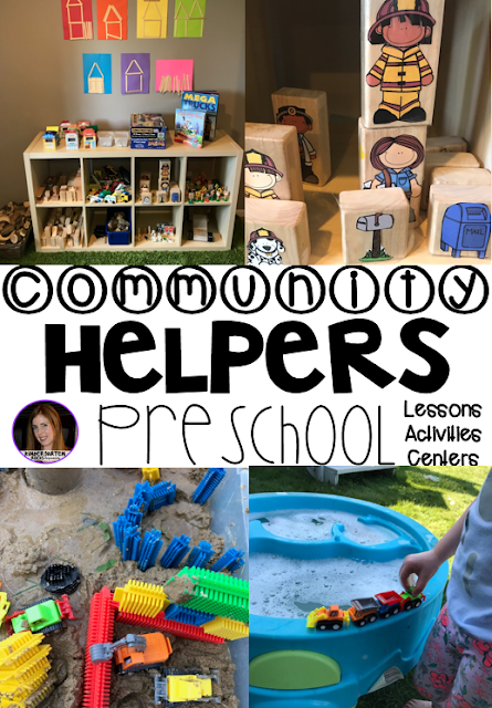 Are you looking for a fun hands-on community helper and fire safety themed unit that revolves around amazing stories and is appropriate for your preschool classroom? Then, you will love Community Themed Helper and Fire Safety Unit for Preschool. Construction Ideas.