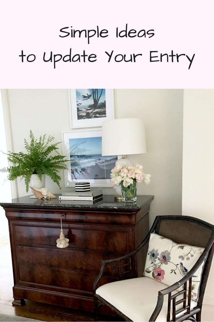Project Design: Simple Ideas to Update Your Entry - Classic Casual Home
