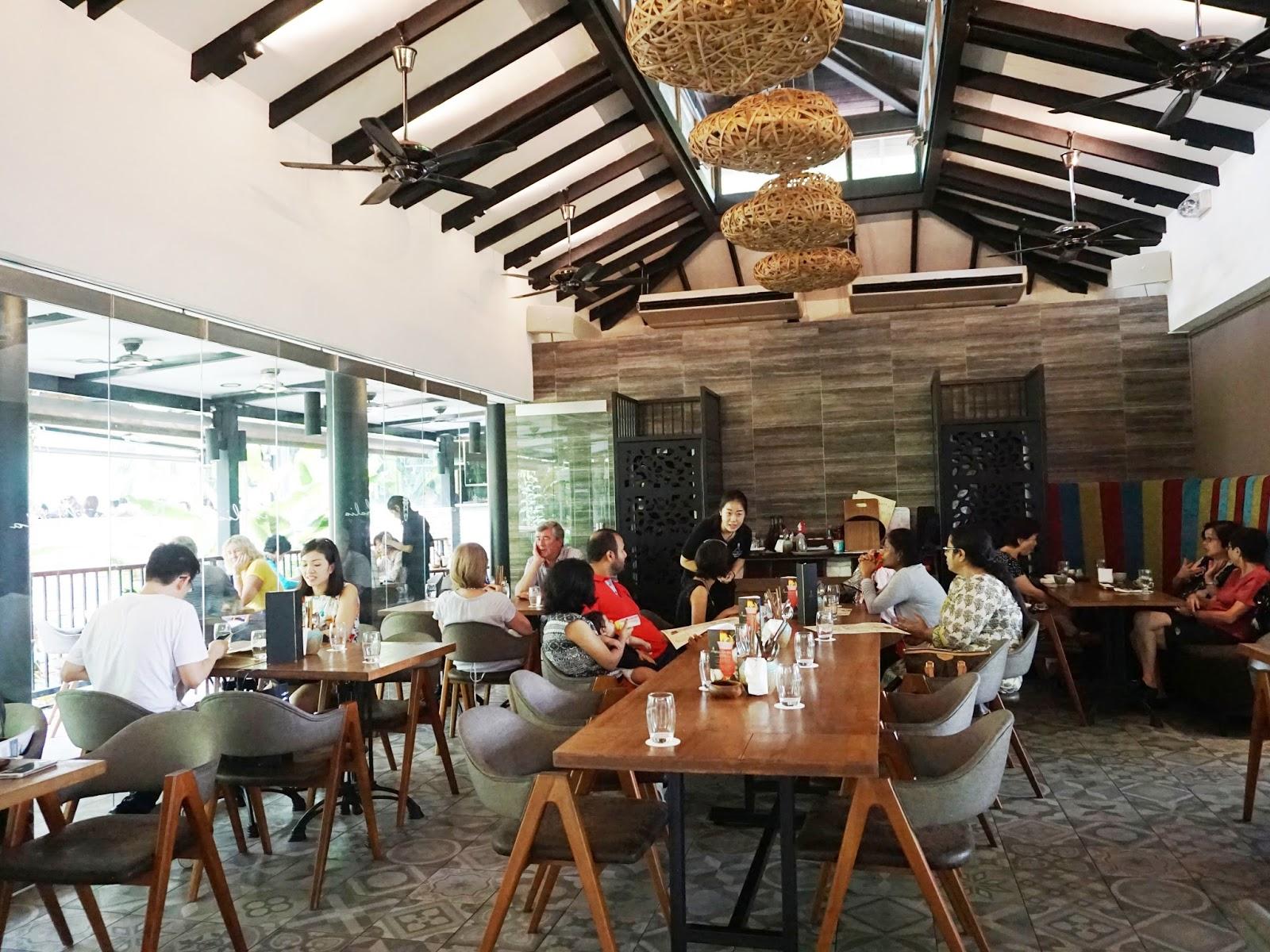 Pinkypiggu The Halia Restaurant Singapore Botanic Gardens Revamped Look Menu