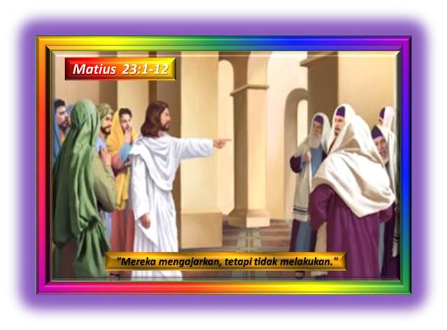 Matius 23:1-12