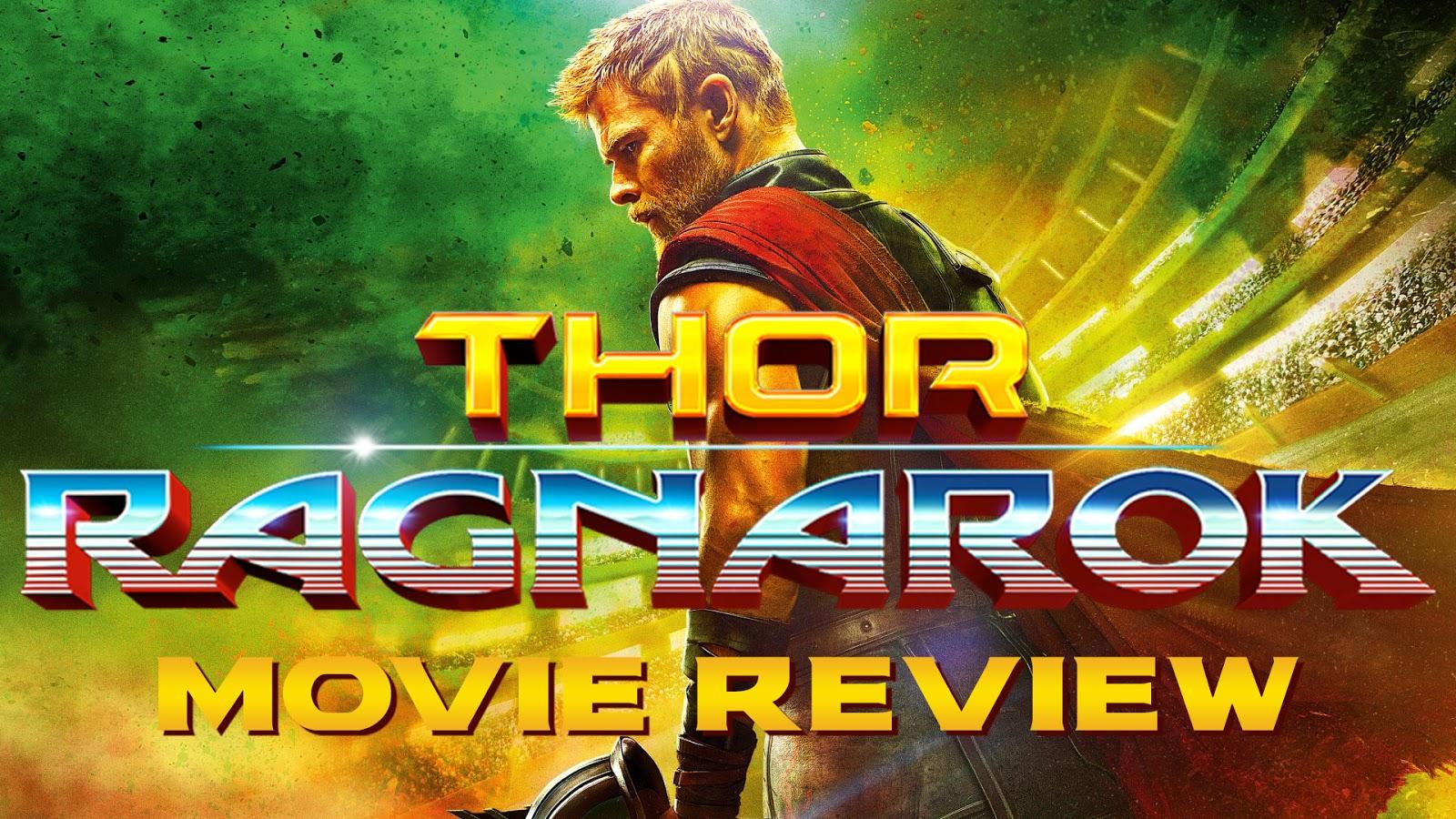 movie review THOR: RAGNAROK podcast