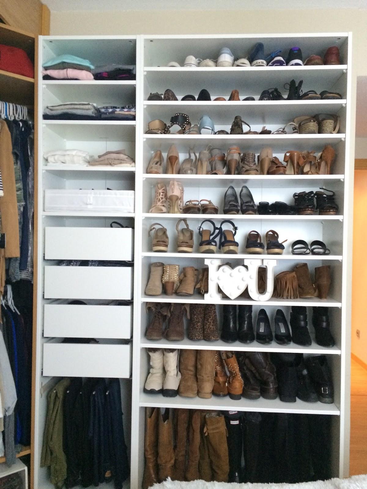 De armario a vestidor s l o a n e s t r e e t - Como construir un zapatero ...
