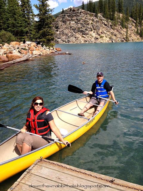 Moraine Lake Alberta Canada, Banff National Park