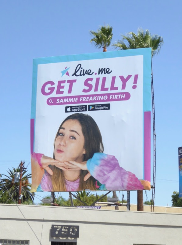 Live Me Get silly billboard