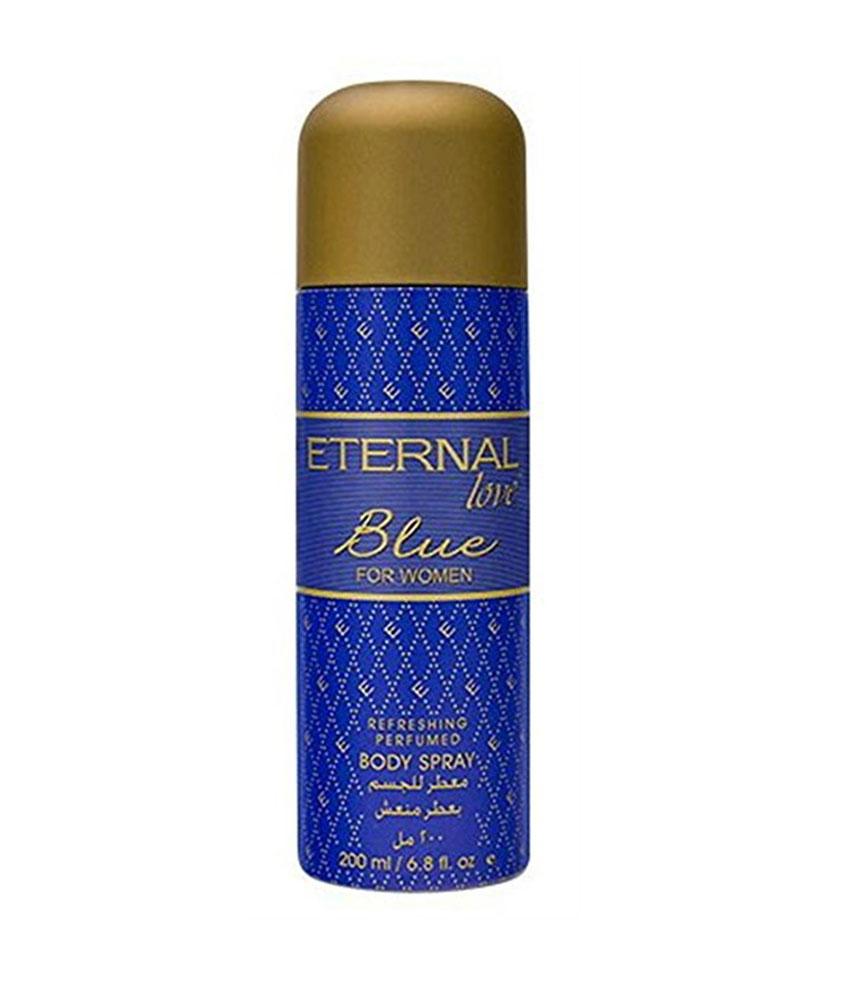 Eternal Love Blue For Women Body Spray 200 ML