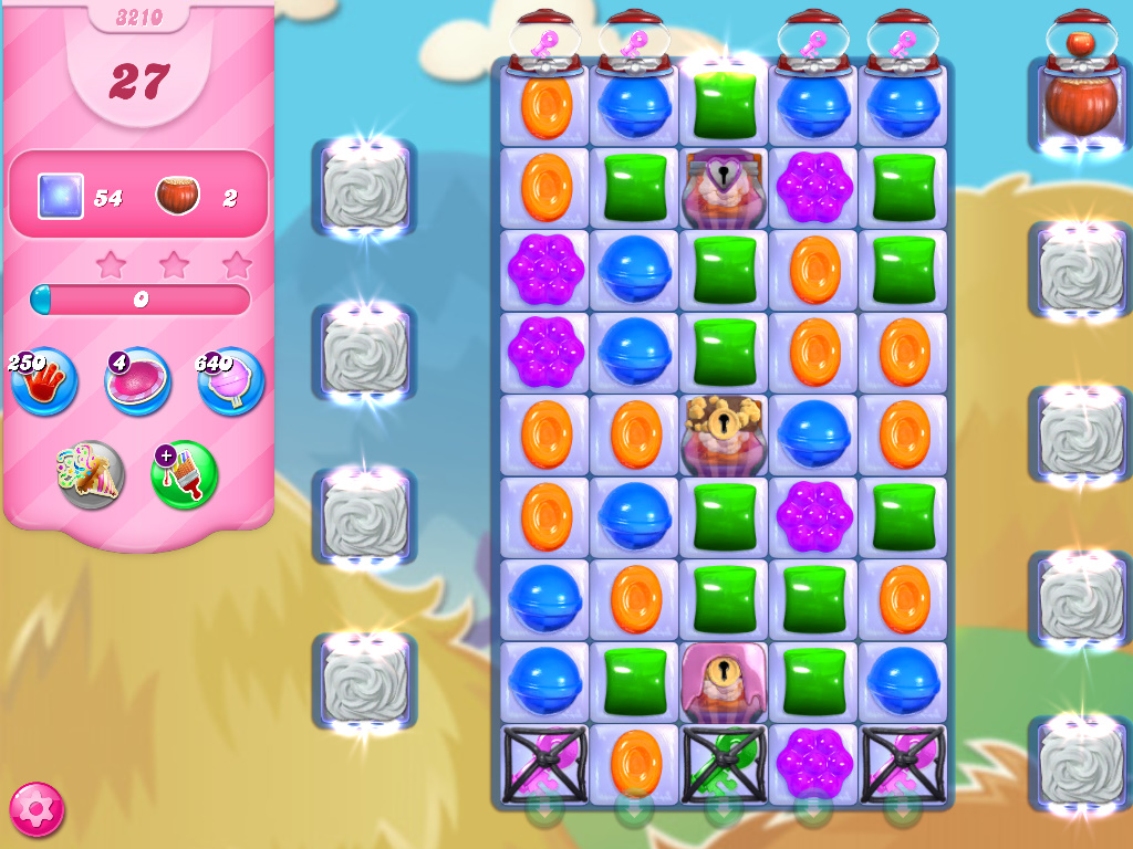 Candy Crush Saga level 3210