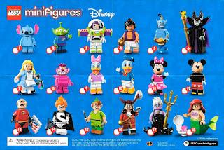 Lego series Disney