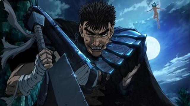 Berserk - Daftar Anime Fantasy Terbaik Sepanjang Masa