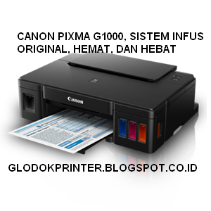 CANON G1000 INK EFFICIENT TINTA SISTEM INFUS PRINTER