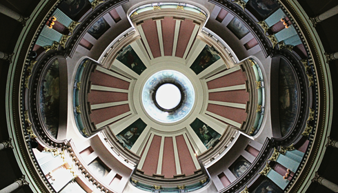 old courthouse dome st louis missouri