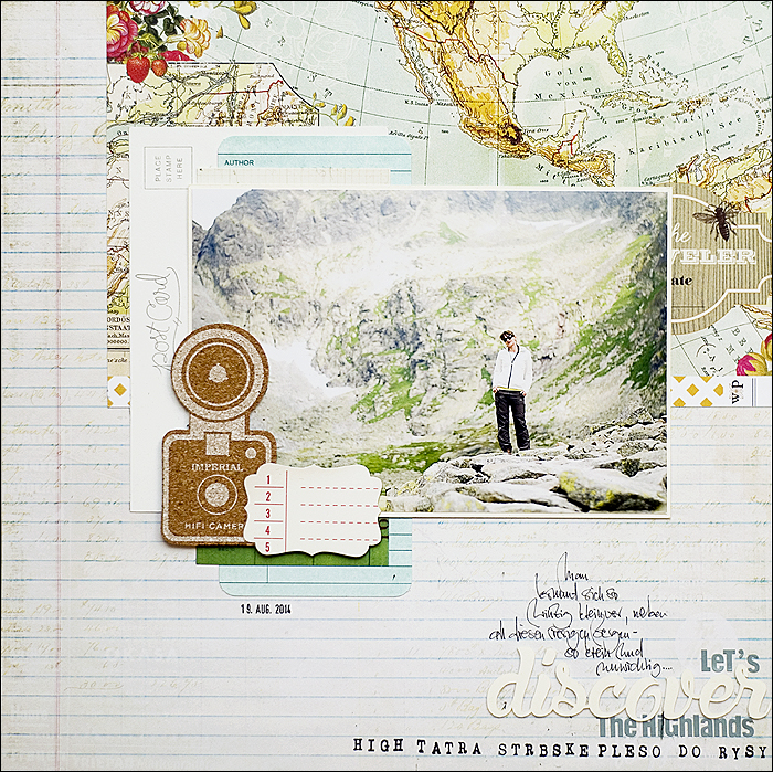 Slowakia, Scrapbooking, Layout