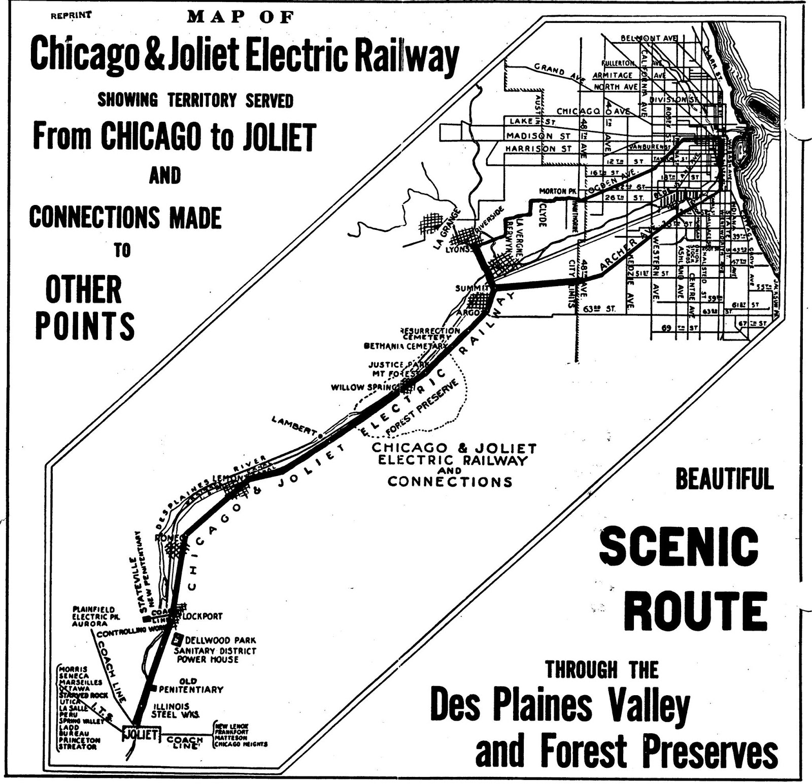 Industrial History: C&JE: Chicago & Joliet Electric Railway