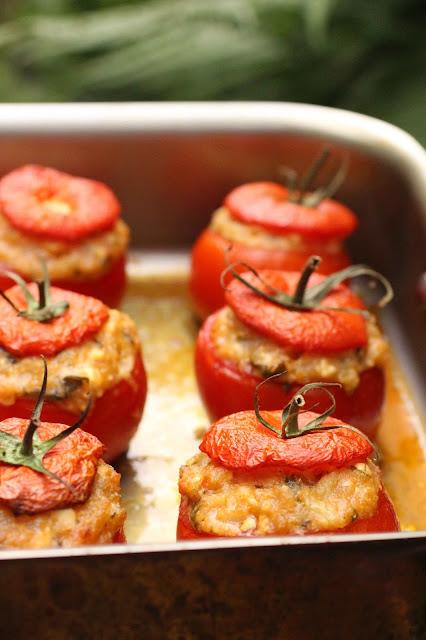 recette vege tomates farcies