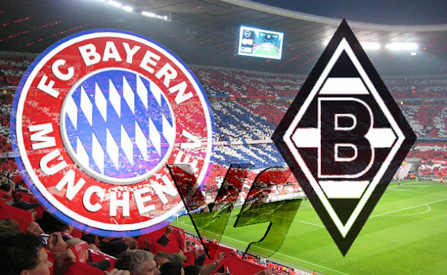 Bayern Munich vs Borussia M.Gladbach Full Match And Highlights