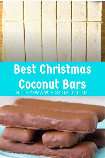 Best Christmas Coconut Bars