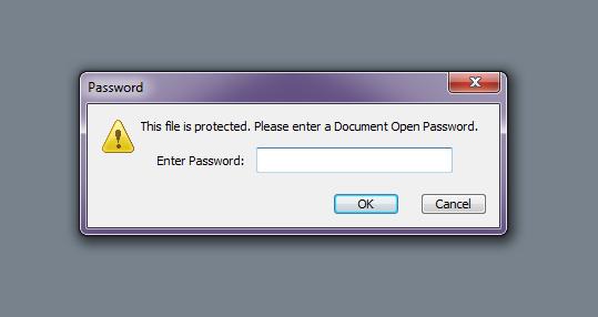 Gambar cara cepat dan mudah membuka password file pdf