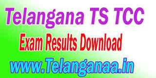 BSE Telangana TS TCC Exam Result Download