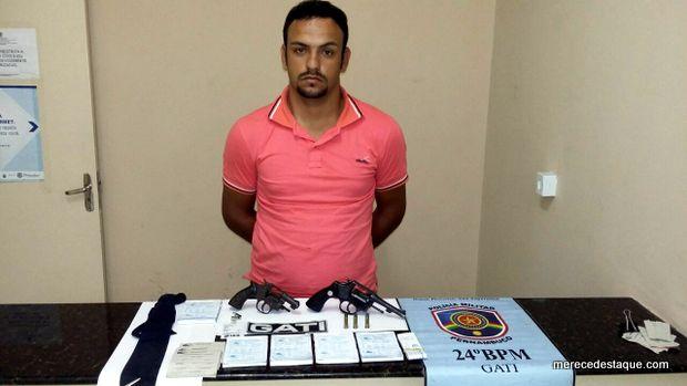 Polícia prende suspeito de praticar assaltos na região do polo de confecções